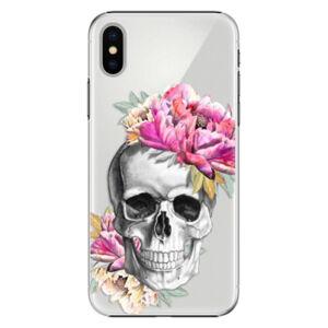 Plastové puzdro iSaprio - Pretty Skull - iPhone X