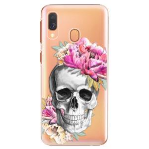 Plastové puzdro iSaprio - Pretty Skull - Samsung Galaxy A40