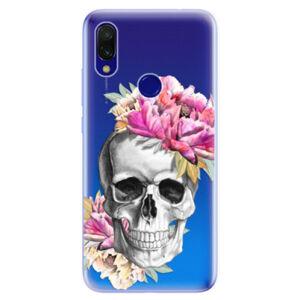 Odolné silikonové pouzdro iSaprio - Pretty Skull - Xiaomi Redmi 7
