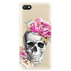 Odolné silikónové puzdro iSaprio - Pretty Skull - Xiaomi Redmi 6A