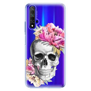 Plastové puzdro iSaprio - Pretty Skull - Huawei Honor 20