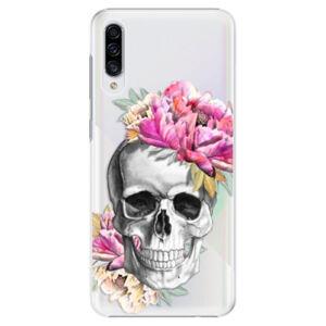 Plastové puzdro iSaprio - Pretty Skull - Samsung Galaxy A30s