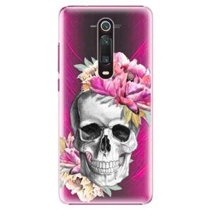Plastové puzdro iSaprio - Pretty Skull - Xiaomi Mi 9T