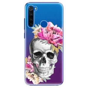Plastové puzdro iSaprio - Pretty Skull - Xiaomi Redmi Note 8T