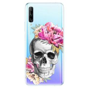 Odolné silikónové puzdro iSaprio - Pretty Skull - Huawei P Smart Pro