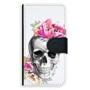Univerzálne flipové puzdro iSaprio - Pretty Skull - Flip XL