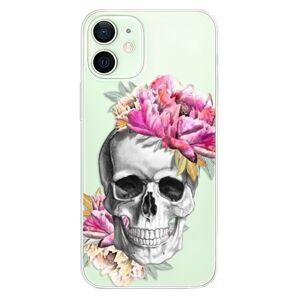 Odolné silikónové puzdro iSaprio - Pretty Skull - iPhone 12
