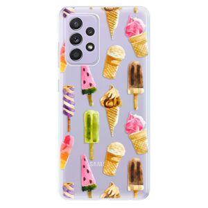 Odolné silikónové puzdro iSaprio - Ice Cream - Samsung Galaxy A52/A52 5G