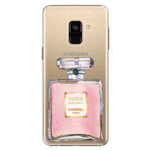 Plastové puzdro iSaprio - Chanel Rose - Samsung Galaxy A8 2018