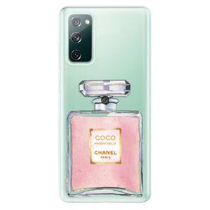 Odolné silikónové puzdro iSaprio - Chanel Rose - Samsung Galaxy S20 FE