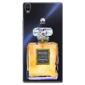 Plastové puzdro iSaprio - Chanel Gold - Huawei Ascend P7