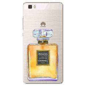 Plastové puzdro iSaprio - Chanel Gold - Huawei Ascend P8 Lite