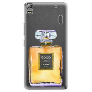 Plastové puzdro iSaprio - Chanel Gold - Lenovo A7000