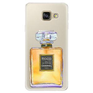Silikónové puzdro iSaprio - Chanel Gold - Samsung Galaxy A5 2016