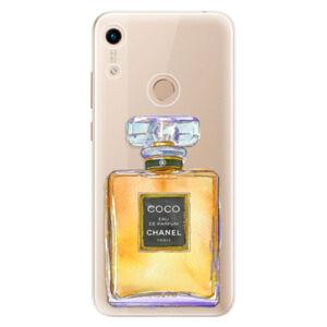 Odolné silikónové puzdro iSaprio - Chanel Gold - Huawei Honor 8A