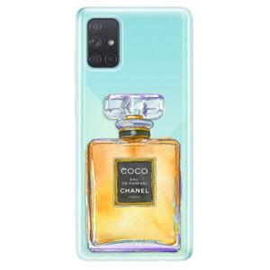 Odolné silikónové puzdro iSaprio - Chanel Gold - Samsung Galaxy A71