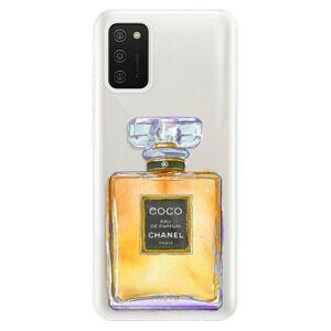 Odolné silikónové puzdro iSaprio - Chanel Gold - Samsung Galaxy A02s