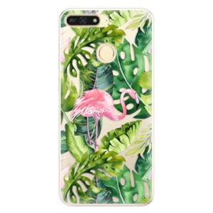 Silikónové puzdro iSaprio - Jungle 02 - Huawei Honor 7A
