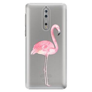 Plastové puzdro iSaprio - Flamingo 01 - Nokia 8