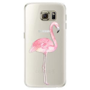 Silikónové puzdro iSaprio - Flamingo 01 - Samsung Galaxy S6