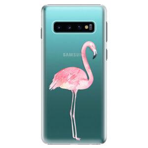 Plastové puzdro iSaprio - Flamingo 01 - Samsung Galaxy S10