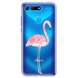 Plastové puzdro iSaprio - Flamingo 01 - Huawei Honor View 20