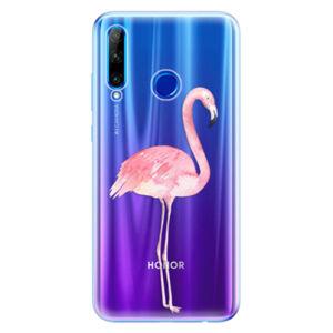 Odolné silikónové puzdro iSaprio - Flamingo 01 - Huawei Honor 20 Lite