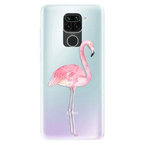 Odolné silikónové puzdro iSaprio - Flamingo 01 - Xiaomi Redmi Note 9