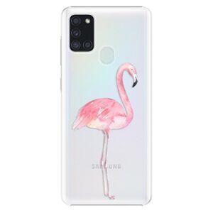 Plastové puzdro iSaprio - Flamingo 01 - Samsung Galaxy A21s