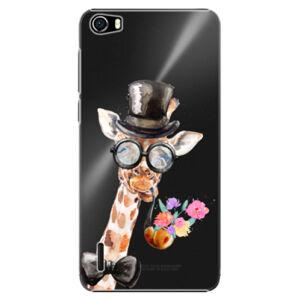 Plastové puzdro iSaprio - Sir Giraffe - Huawei Honor 6