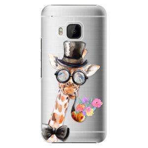 Plastové puzdro iSaprio - Sir Giraffe - HTC One M9