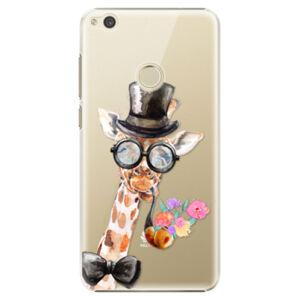 Plastové puzdro iSaprio - Sir Giraffe - Huawei P9 Lite 2017