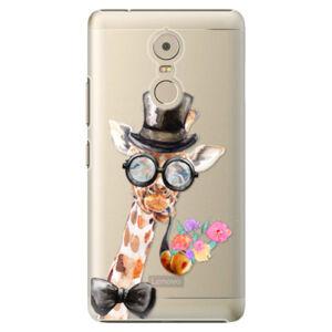 Plastové puzdro iSaprio - Sir Giraffe - Lenovo K6 Note