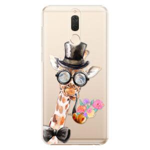 Plastové puzdro iSaprio - Sir Giraffe - Huawei Mate 10 Lite