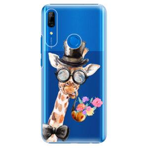 Plastové puzdro iSaprio - Sir Giraffe - Huawei P Smart Z