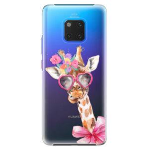 Plastové puzdro iSaprio - Lady Giraffe - Huawei Mate 20 Pro