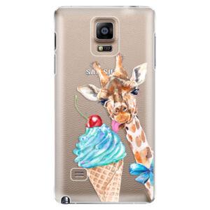 Plastové puzdro iSaprio - Love Ice-Cream - Samsung Galaxy Note 4
