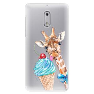 Plastové puzdro iSaprio - Love Ice-Cream - Nokia 6