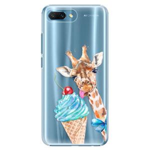 Plastové puzdro iSaprio - Love Ice-Cream - Huawei Honor 10