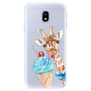 Silikónové puzdro iSaprio - Love Ice-Cream - Samsung Galaxy J3 2017