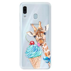 Silikónové puzdro iSaprio - Love Ice-Cream - Samsung Galaxy A30