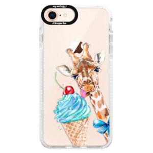 Silikónové púzdro Bumper iSaprio - Love Ice-Cream - iPhone 8