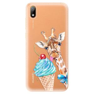 Odolné silikónové puzdro iSaprio - Love Ice-Cream - Huawei Y5 2019