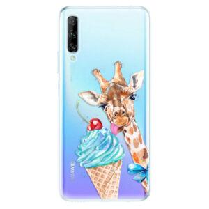 Odolné silikónové puzdro iSaprio - Love Ice-Cream - Huawei P Smart Pro