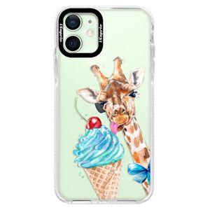 Silikónové puzdro Bumper iSaprio - Love Ice-Cream - iPhone 12 mini