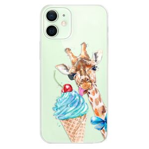 Odolné silikónové puzdro iSaprio - Love Ice-Cream - iPhone 12