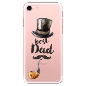 Plastové puzdro iSaprio - Best Dad - iPhone 7