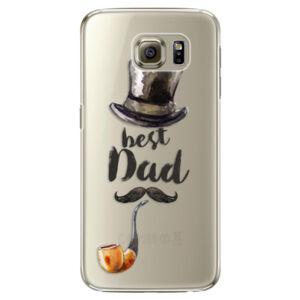 Plastové puzdro iSaprio - Best Dad - Samsung Galaxy S6 Edge Plus