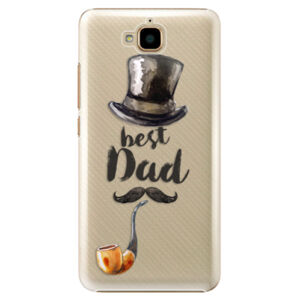Plastové puzdro iSaprio - Best Dad - Huawei Y6 Pro