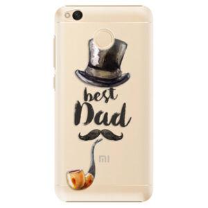 Plastové puzdro iSaprio - Best Dad - Xiaomi Redmi 4X